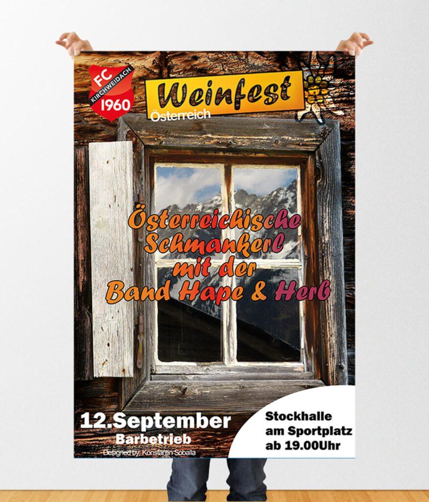 Plakate Veranstaltungen