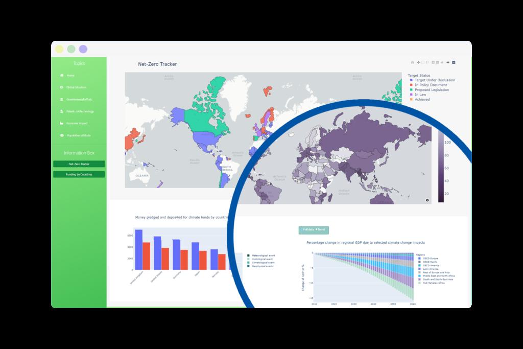 WebApp - Visualize Climate Change